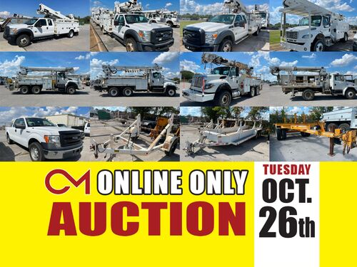 Middle Tennessee Electric Membership Company Fleet of Vehicles and Equipment For Sale featured photo