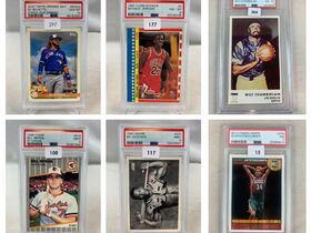 Sports Auction #26 - PSA Graded Cards featured photo 1
