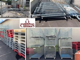 Plastic Skids, Metal Crates, Fencing Closing September 14th featured photo 1