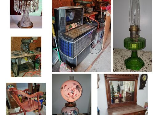Jukebox, Riding Lawn Mower, Mickey Mouse Watches, Christmas Items and More featured photo