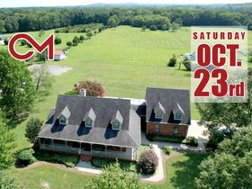 Spacious Country Estate on 9.37+/- Acres - Over 5,590+/- Square Foot Home & Guest Cabin - AUCTION Oct. 23rd featured photo 1