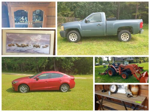 The Johnson Estate - Vehicles, Tractor, Equipment, Tools, Collectibles, Furniture and more featured photo