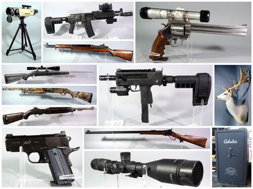 High Caliber Firearm And Sportsman Auction featured photo
