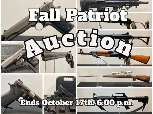 Fall Patriot Auction featured photo