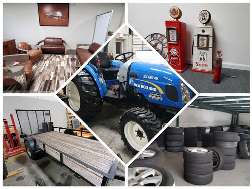 EAW - Moving Sale:  Tractor, Trailers, Tires/Wheels, Parts, Collectibles, Furniture and more! featured photo
