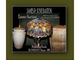 ESTATE AUCTION OF JAMES & JUNE BASTON SUNDAY, SEPT. 26th On Site featured photo 1