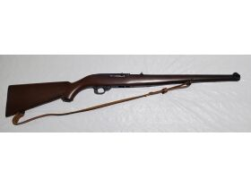 1. Ruger 10-22 .22cal autoload, mannlicher stock #