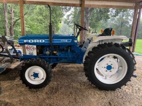 Sims Living Estate Online Auction - Ford 1710 Tractor, Dixie Chopper Mower, hand tools, power tools, Stihl equipment, household items, furniture, TV's, glassware, etc... featured photo 1