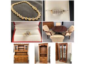 Jewelry, Glassware, Furniture & Collectibles at Absolute Online Auction featured photo 1