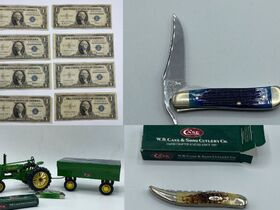 Case Knives, Stamps, Currency featured photo 1