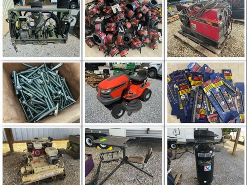 Industrial Tools and Equipment, Automotive Accessories - New and Used Inventory featured photo