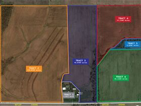Montgomery County Farmland, Homes and Building Site - North Road Just Outside of Hillsboro, IL featured photo 1