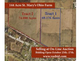 144 Acre Auglaize County Farm featured photo 1