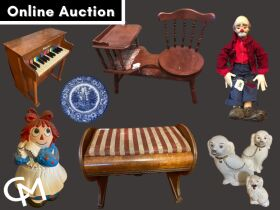 Furniture, Dolls, Antiques, Tools, & Household Misc. - Online Auction Chandler, IN featured photo 1