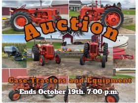 Mike and Gail Clark Case Tractor Auction featured photo 1