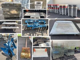 Surplus Skids, Crates, Picnic Table, Plow Disc, and More Closing October 19th featured photo 1