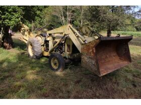 FORD BACKHOE • VEHICLES • APPLIANCES • FURNITURE • LAWN MOWERS • TOOLS • MISC. - Online Bidding Only Ends Wed., Nov. 3rd @ 4:00 PM CDT featured photo 1