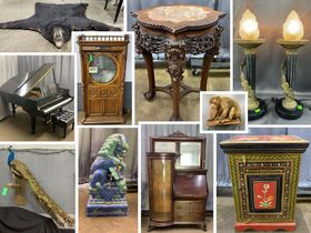 3 estates, Mrs. Norwood, Mounts, Steinway, Asian Items,  2 Reginas, and More Closing October 25th featured photo 1
