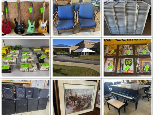 Multiple Estates and Consignment Auction - Musical Equipment, Event Supplies, Ammo, Furniture and more! featured photo