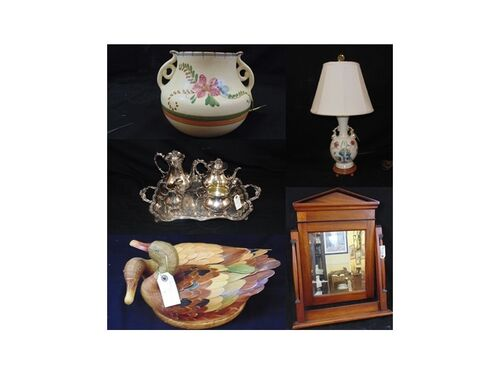 Antiques, Artwork, China, Crystal, Jewelry & More! featured photo